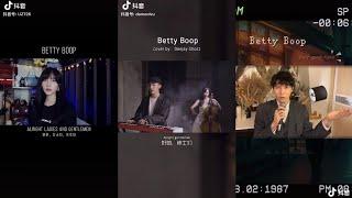 """[ 抖音] Các Bản Cover """"Betty Boop"""" Hay Nhất Trên Tik Tok Trung Quốc"""