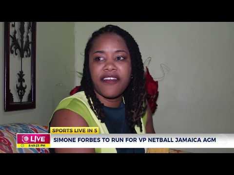 Simone Forbes to run for VP Netball Jamaica
