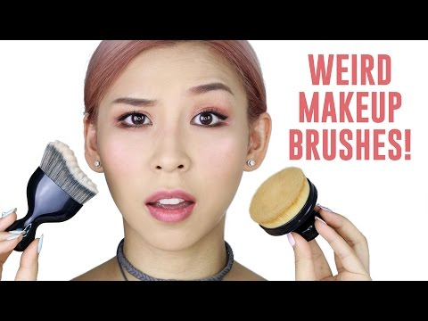 Weird Foundation Brushes - TINA TRIES IT