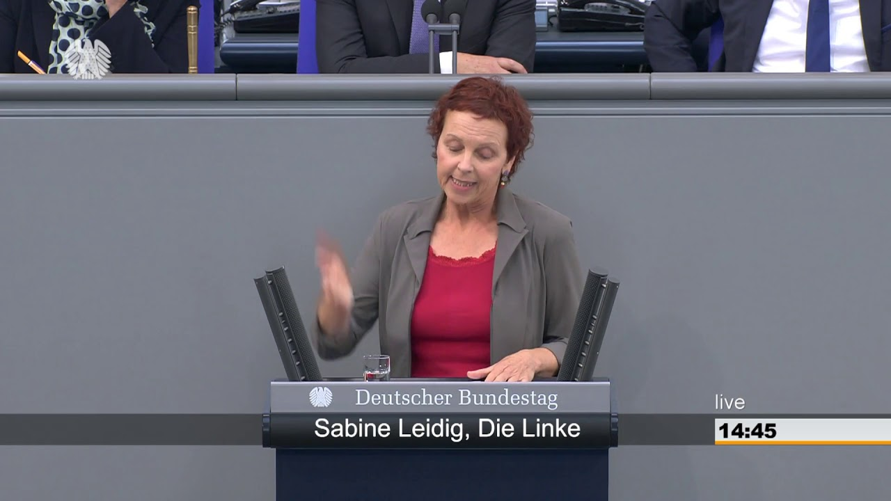Rede von Sabine Leidig am 28. September 2018 im Deutschen Bundestag zum Thema Bessere Planung und mehr, nicht weniger Bürgerbeteiligung!