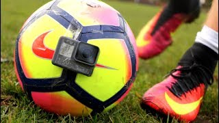 GoPro on a FOOTBALL!! (Epic Footage)