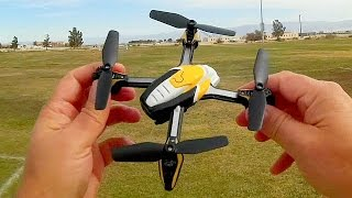 Pantonma K90W Obstacle Avoidance Micro FPV Drone Flight Test Review