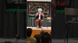سخنرانی استاد عالمی ترکمنی محرم ۲۰۱۹ در سوئد