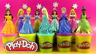9 Disney Princesses Magiclip Pâte à modeler Play Doh ♥ Doh Vinci