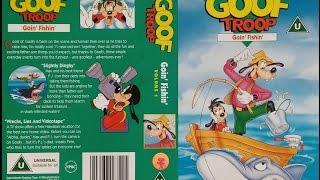 Opening Of 'Goof Troop   Goin' Fishin' (1994, UK VHS)