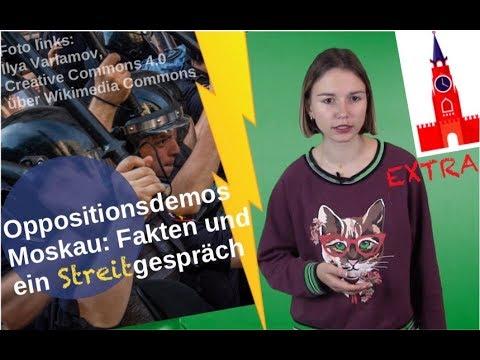 Oppositionsdemos Moskau: Fakten und Streitgespräch [Video]