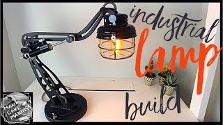 Industrial Desk Lamp Build