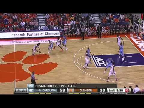 Video: UNC-Clemson Game Highlights
