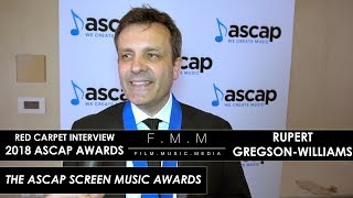 2018 ASCAP Awards: Rupert Gregson-Williams
