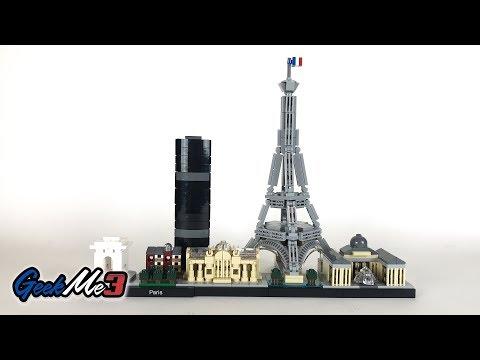 Vidéo LEGO Architecture 21044 : Paris, France