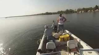 preview picture of video 'Lake Chautauqua Fishing Trip Highlights'