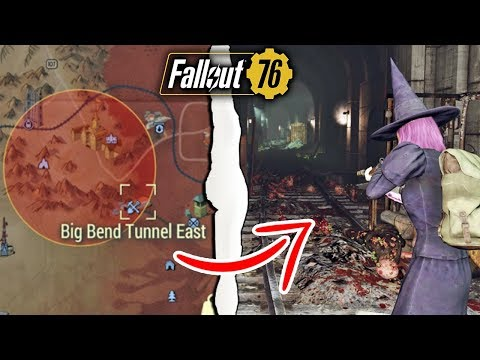 Fallout 76 | What Happens if You Nuke Big Bend Tunnel East & Tunnel West?