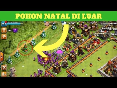Video CARA MENUMBUHKAN POHON NATAL DI LUAR BASE - COC Indonesia