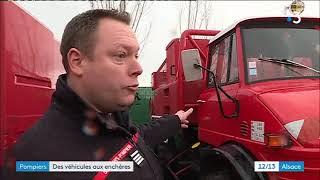 Les Pompiers Du Bas-Rhin Vendent Leurs Véhicules Aux Enchères