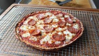 """Cauliflower Pizza Crust Recipe - Cauliflower Pizza """"Dough"""" Recipe"""