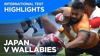 Japan v Wallabies Highlights   International Test   2021