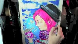 """""""Tentacles"""" by Ghost Town Speed Painting"""