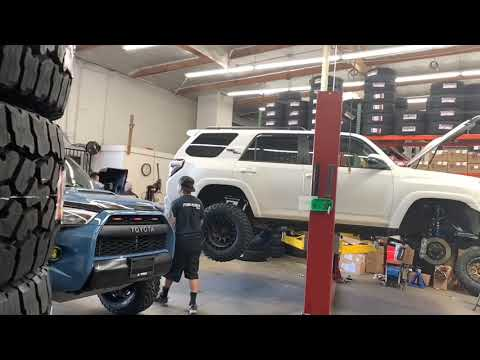 4Runner TRD Pro & 4Runner TRD Offroad Kings OME & SCS Wheels