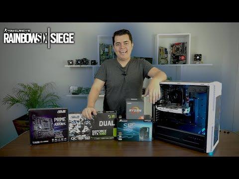 Ensamblando PC Gamer para jugar Rainbow Six Siege todo en Alto - Proto HW & Tec