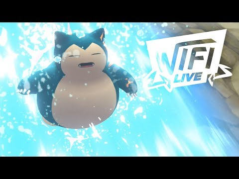 Pokemon Let's Go Pikachu & Eevee Wi-Fi Battle: Ditto + Snorlax Combo! (1080p)