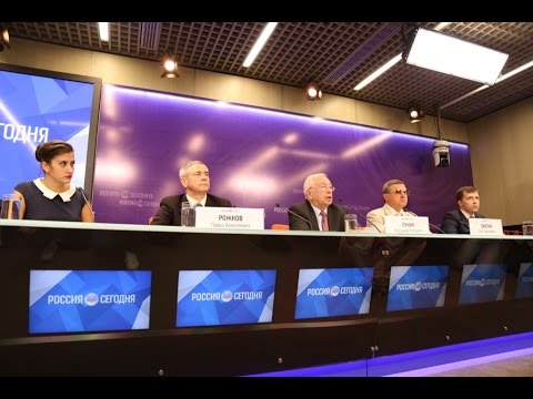 Пресс-конференция ПКР по вопросам участия сборной России в XV Паралимпийских летних играх 2016