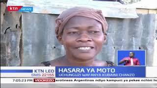 Moto mkubwa uliteketeza soko la Toi katika mtaa wa Kibera