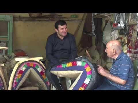 87 yaşındaki 70 yıllık semerci ustasına kaymakamdan vefa
