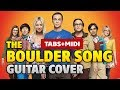 TBBT - The Boulder Song (Acoustic Fingerstyle Guitar Cover with TAB and MIDI by Kaminari)
