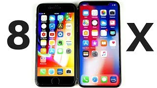 Should I buy iPhone 8 or X?