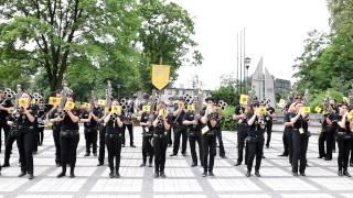 preview picture of video 'Parada orkiestr i mażoretek z okazji Dnia Dziecka - Knurów'