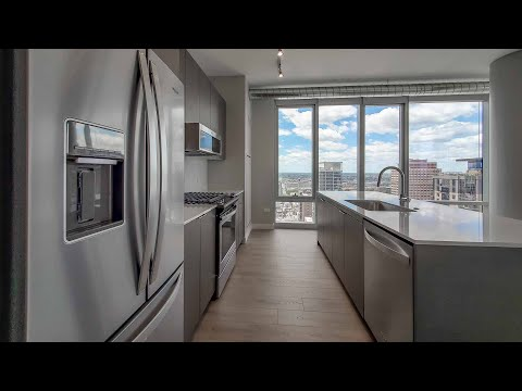A River North 1-bedroom WA17 at 23 West Apartments at One Chicago