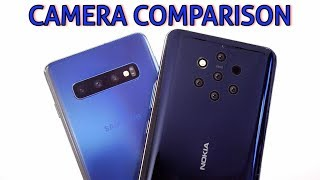 Samsung Galaxy S10 VS Nokia 9 PureView CAMERA COMPARISON!