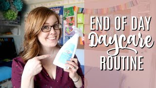 Post- Daycare Upkeep Routine | DAYCARE DAY