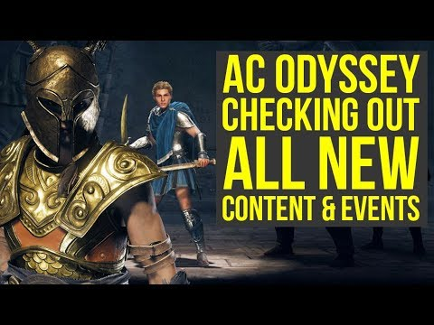 Assassin's Creed Odyssey DLC - Checking Out All The New Stuff (Weekly Reset February 19th)