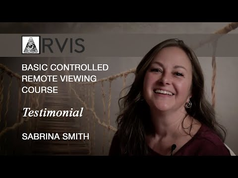 BASIC CONTROLLED REMOTE VIEWING COURSE Testimonial