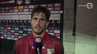NEC wint dankzij Jordy Bruijn eerste thuiswedstrijd