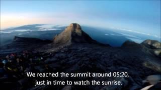 På Toppen Af Mt. Kinabalu