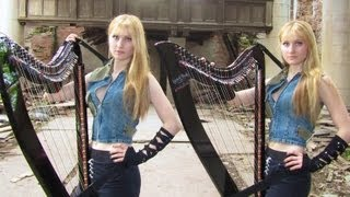 JUDAS (Lady Gaga) Harp Twins - Camille and Kennerly