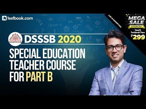 DSSSB Special Education Teacher Course for Part B | Best Online ...