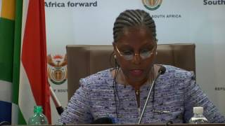 Watch Minister Ayanda Dlodlo briefs media on outcomes of Cabinet meeting 26 April 2017