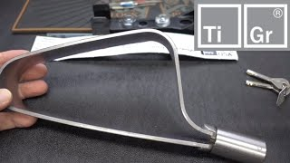 (1391) Review: TiGr Mini Titanium Bike Lock