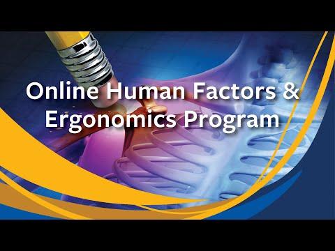 About the COEH Online Human Factors & Ergonomics Program ...