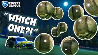 Rocket League but the Ball Multiplies Every Time You Hit it (but I know the real one)