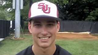 preview picture of video 'Baseball: Saint Joseph's 3, Rhode Island 2'