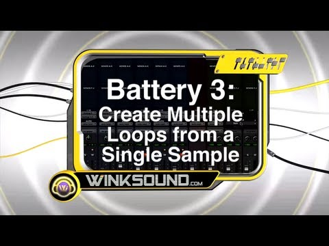 Native Instruments Battery 3: Create Multiple Loops From A Single Sample | WinkSound