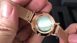 Unbox Daniel Wellington Classic Petite Melrose DW00100161 - Mở hộp đồng hồ DW chính hãng