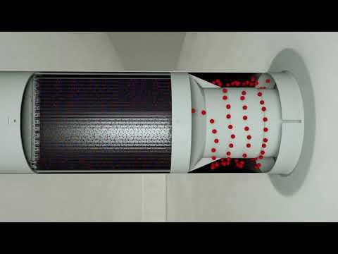 Приточно вытяжная установка Climtec РДЦ-250 Video #1