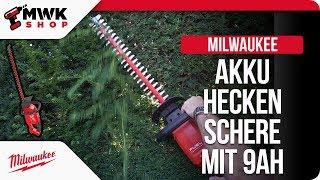 Milwaukee Akku Heckenschere im maximalen