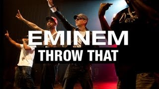 Eminem - Throw That ft.Slaughterhouse (Music Video) HD