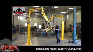Aura Systems - Dorsi Long Reach Elbow Manipulator